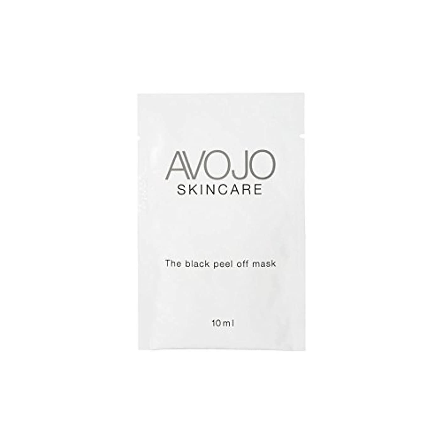 連結する感嘆符すべてAvojo - The Black Peel Off Mask - Sachet (10ml X 4) (Pack of 6) - - ブラックピールオフマスク - 小袋(10ミリリットル×4) x6 [並行輸入品]