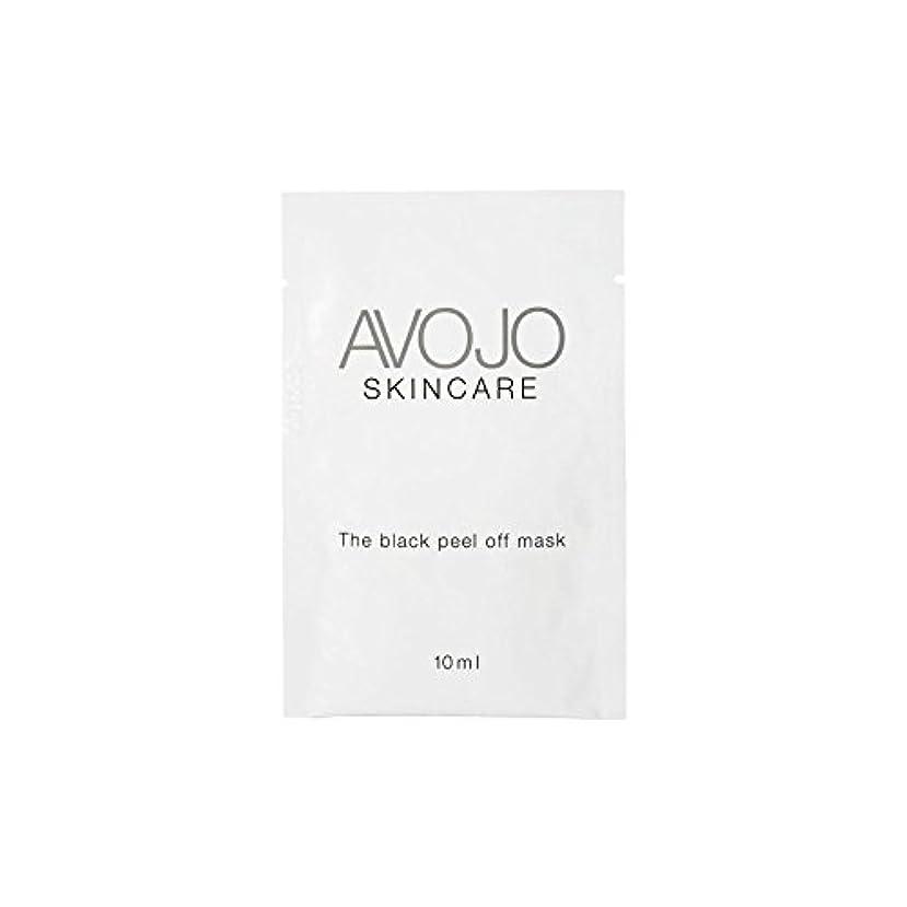 ワークショップキャプチャーバスケットボール- ブラックピールオフマスク - 小袋(10ミリリットル×4) x4 - Avojo - The Black Peel Off Mask - Sachet (10ml X 4) (Pack of 4) [並行輸入品]
