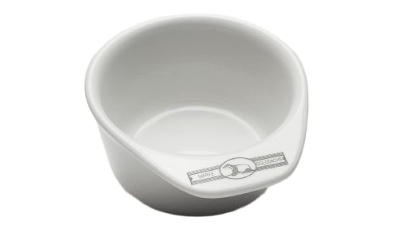 Golddachs shaving pot, Porcelain with handle