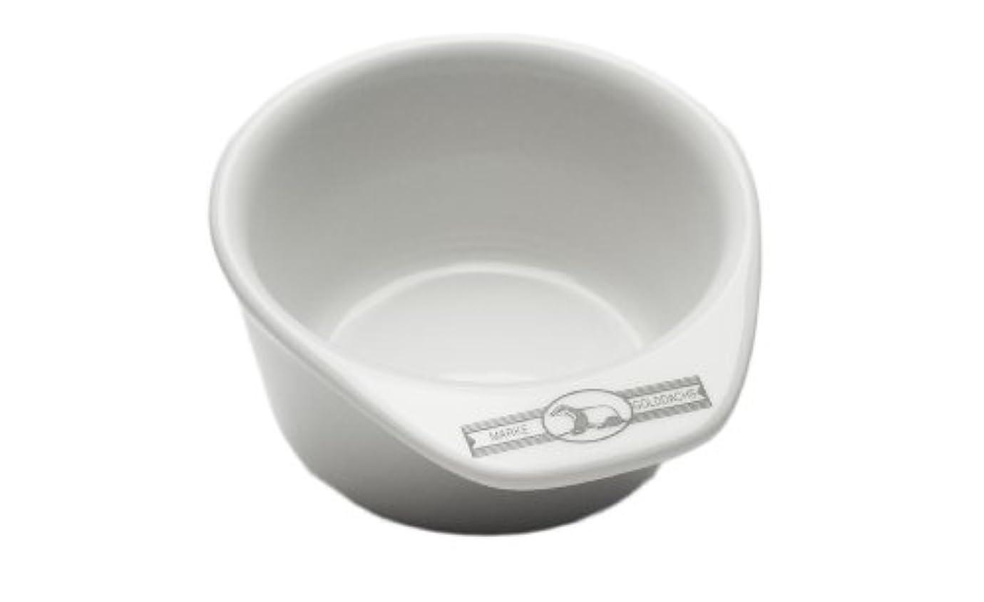ベールに応じてラッカスGolddachs shaving pot, Porcelain with handle