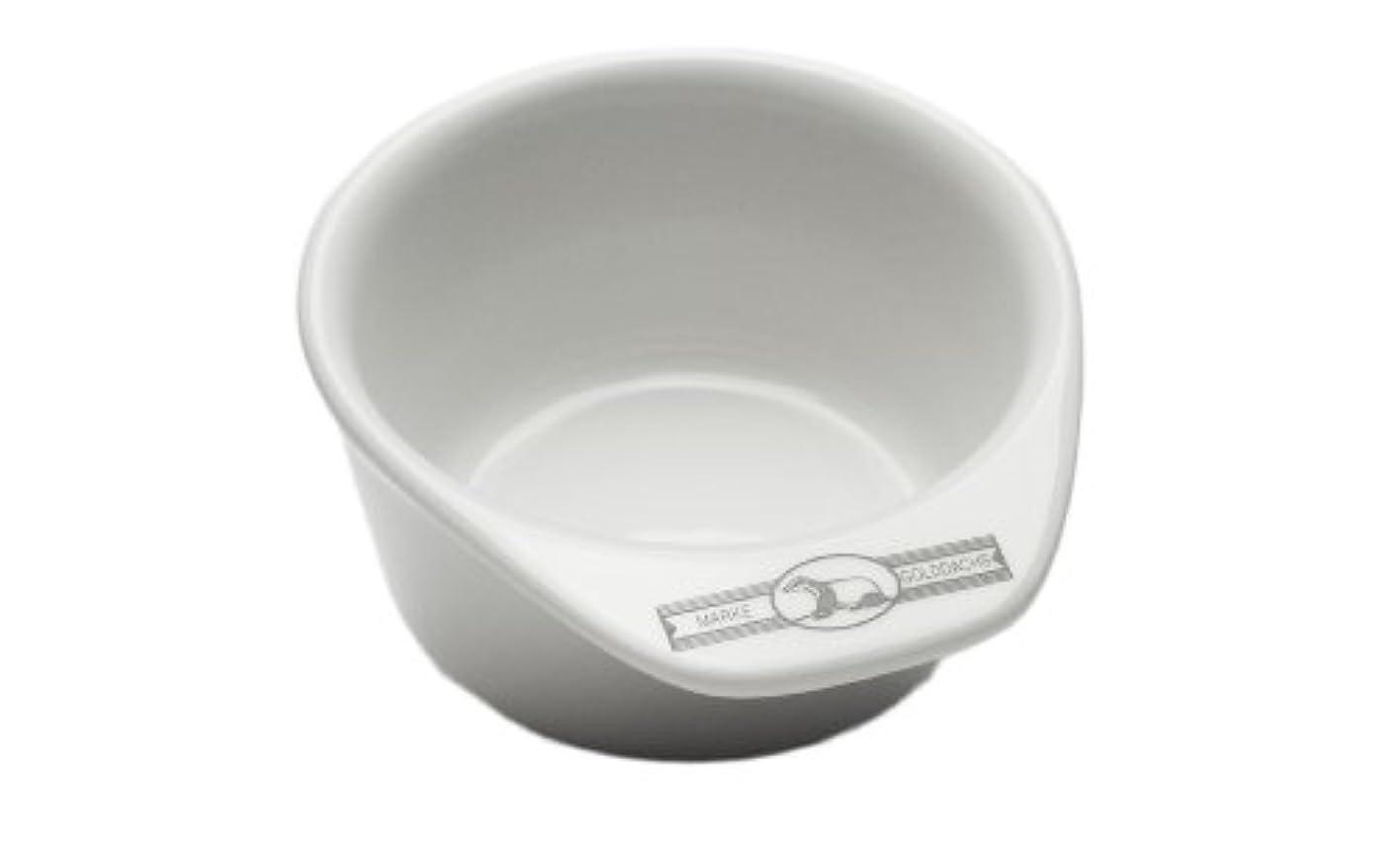 速度橋脚サージGolddachs shaving pot, Porcelain with handle