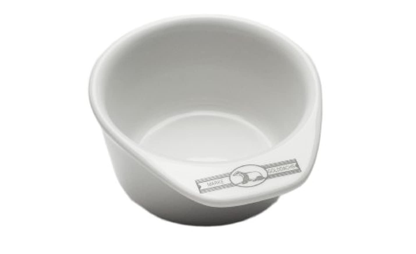 葉っぱ副詞ナインへGolddachs shaving pot, Porcelain with handle