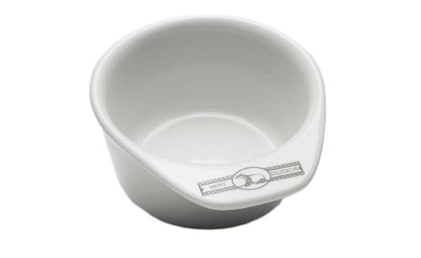 灰銛回復Golddachs shaving pot, Porcelain with handle