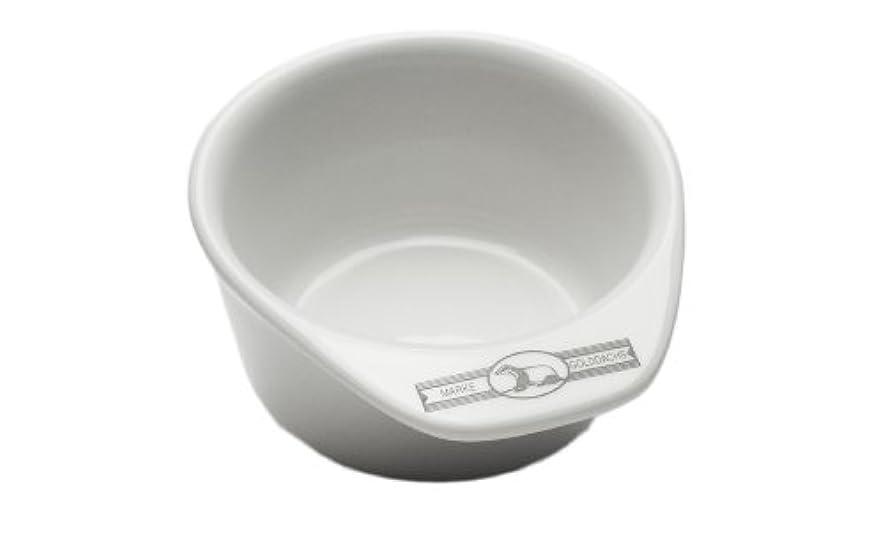 祈り剪断バスケットボールGolddachs shaving pot, Porcelain with handle
