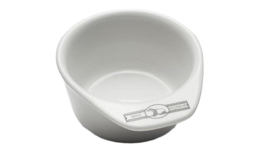 うまくやる()眠っている鬼ごっこGolddachs shaving pot, Porcelain with handle