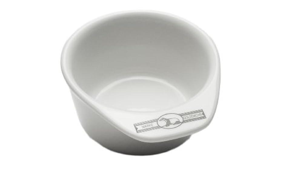 大陸上院議員評論家Golddachs shaving pot, Porcelain with handle