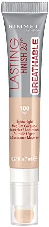 Rimmel London Lasting Finish Breathable Concealer, Fair #100 7ml