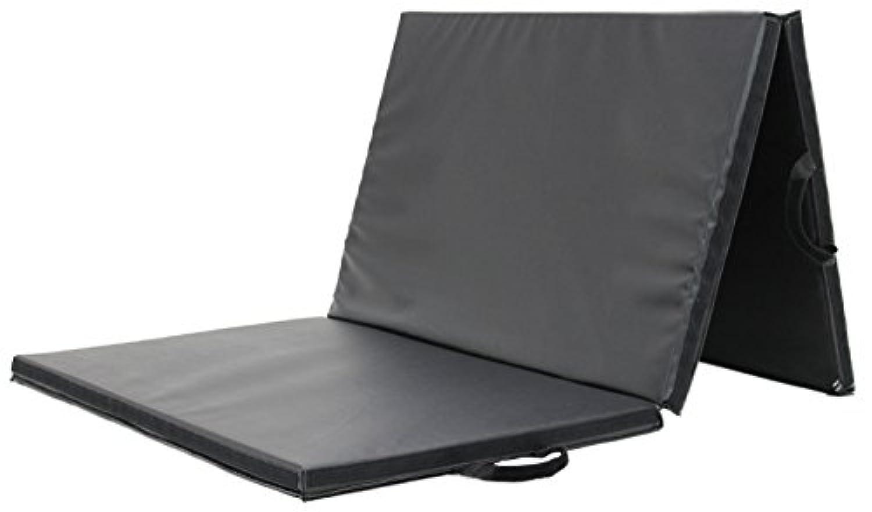 KaRaDaStyle マット 体操 ヨガ ボルダリング 防音 運動用 スポーツマット 連結可能 重反発ウレタン 180×90×4cm