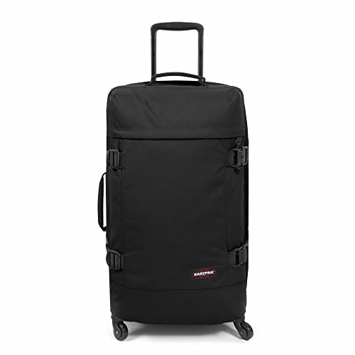 EASTPAK TRANS4 WHEELED HOLDALL MEDIUM (BLACK)