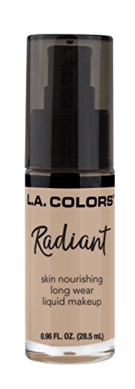 記録写真を撮るハリケーンL.A. COLORS Radiant Liquid Makeup - Beige (並行輸入品)