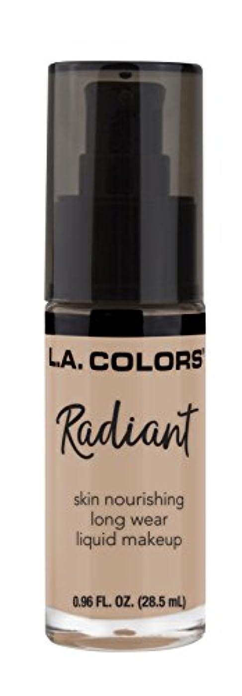 苦行満足できる訪問L.A. COLORS Radiant Liquid Makeup - Beige (並行輸入品)