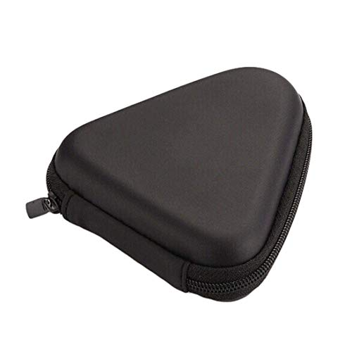 Nrpfell ハード収納ケース ギフトのボックス、トライフィジェット ハンド スピナー用、EDCフィジェット スピナーおもちゃ(黒色- トライアングル)