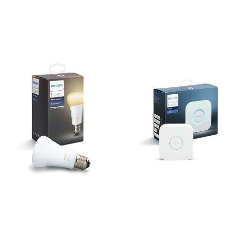 Philips Hue(ヒュー)ホワイトグラデーション シングルランプ +ブリッジ 【Amazon Echo、Googl...