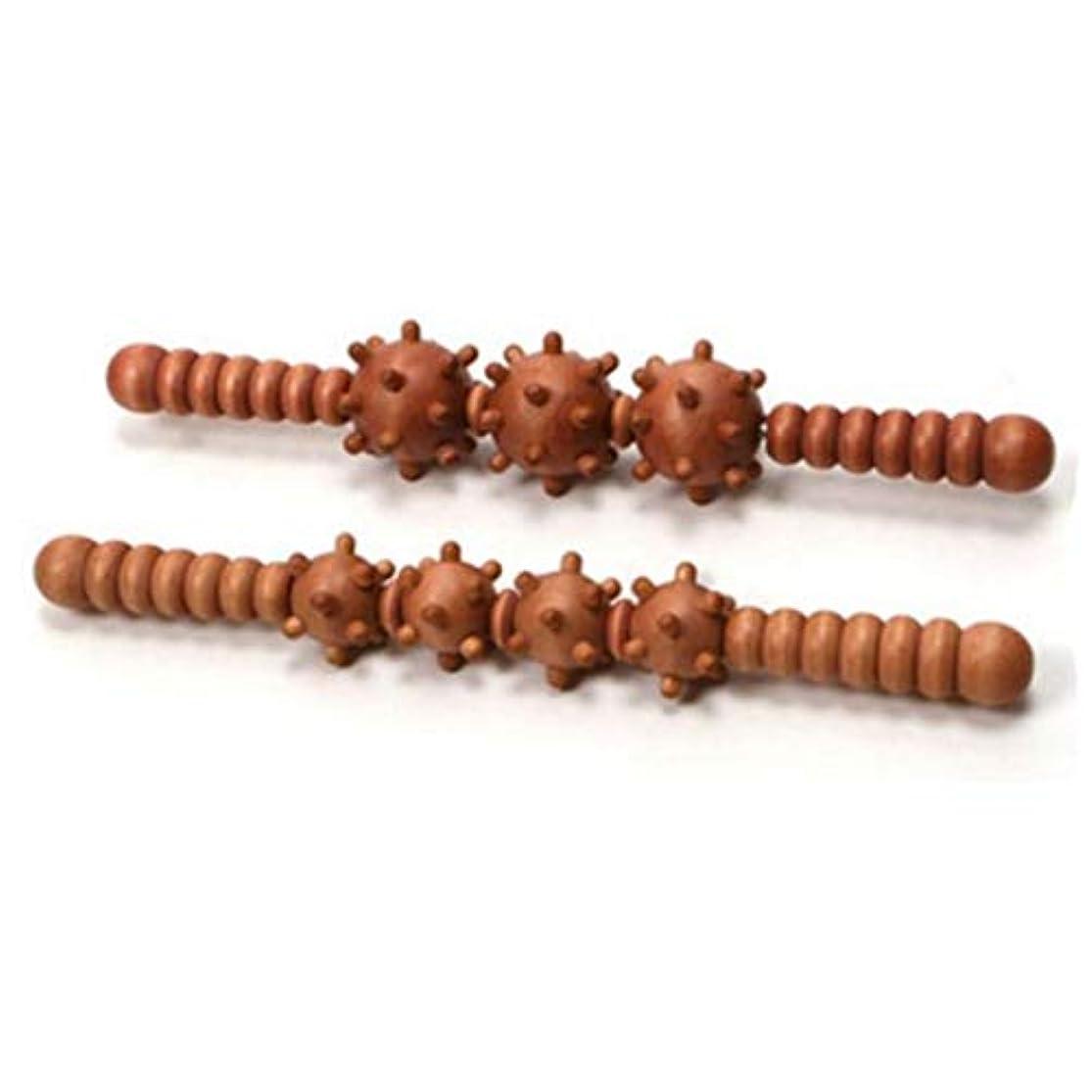 ホール知る課すKEM 筋膜とセルライトリムーバー腹部腹部マッサージトリガーポイントマッサージスティックボール Fascia and Cellulite Remover Abdomen Belly Massage Trigger Point Massager Stick Balls [並行輸入品]