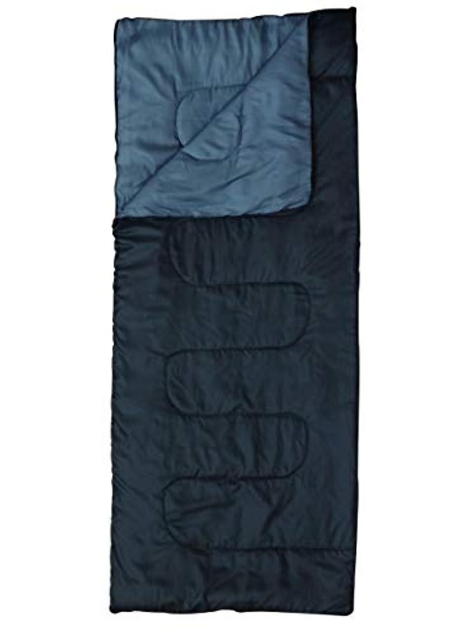 締め切り顕著魅力MerMonde (メルモンド) 寝袋 冬用 シュラフ 封筒型 [最低温度 10℃] 丸洗い コンパクト [ アウトドア/キャンプ/防災 ] 収納袋付き (ブラック)