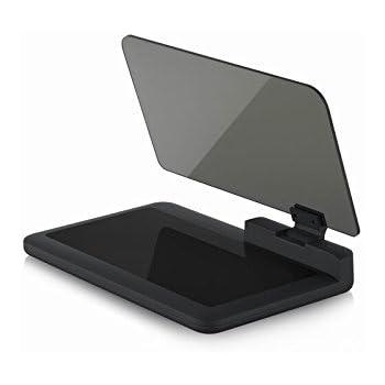 EFORCAR 6インチ 車載HUD ヘッドアップディスプレイgps スマートフォン対応 角度調整可能 簡単投影 安全運転