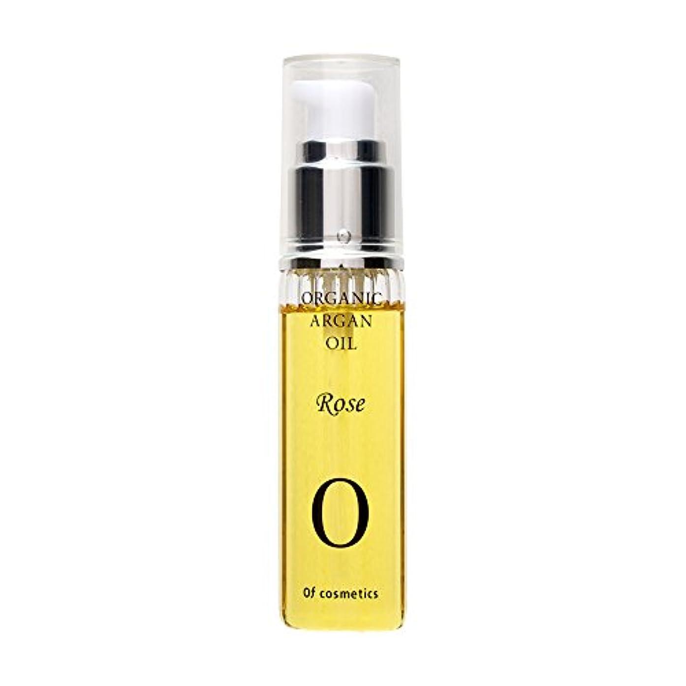 健康的アプト邪魔するオブ?コスメティックス スキンオイル?0-RO (目元や口元など、お顔の保湿ケアに) 40m ローズの香り 美容室専売 オーガニックアルガンオイル  潤い べたつかない オブコスメ