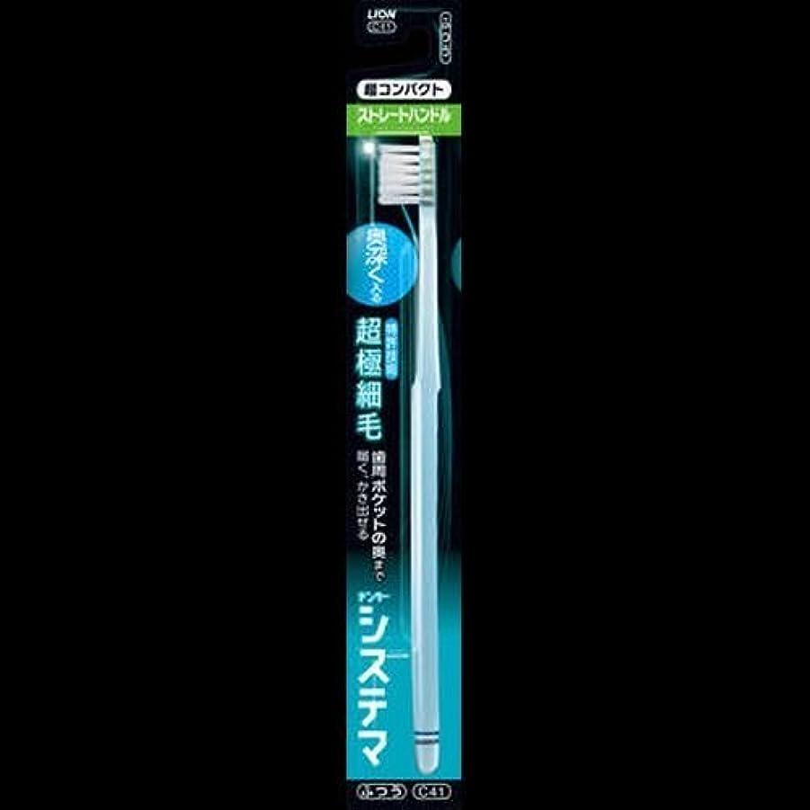 お小説家収穫デンターシステマハブラシストレートハンドル 超コンパクト 1本 ×2セット