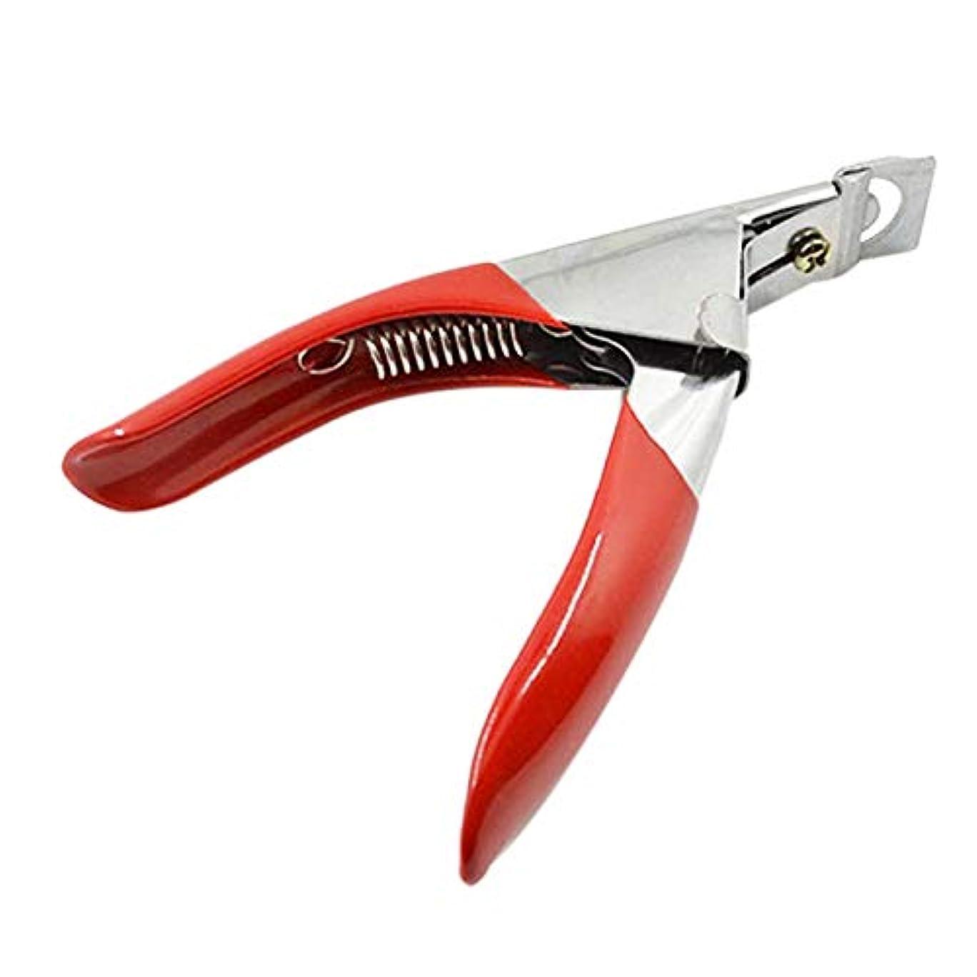 合体に対応する割り当てるCUHAWUDBA マニキュア、ネイルのはさみ、カット、フランス語の言葉、偽爪のはさみ、カット用マニキュアのツール