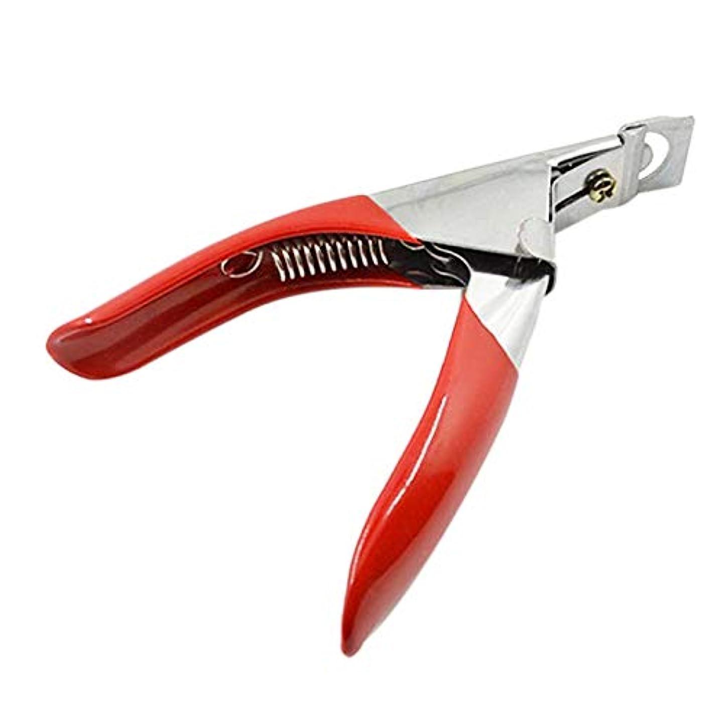 引き算違反する感謝するCUHAWUDBA マニキュア、ネイルのはさみ、カット、フランス語の言葉、偽爪のはさみ、カット用マニキュアのツール