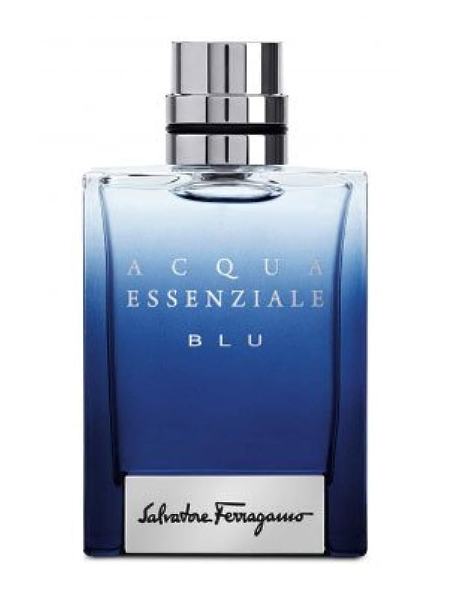 ドール飛ぶ茎Acqua Essenziale Blu (アクア エッセンツィエール ブルー) 3.4 oz (100ml) EDT Spray by Salvatore Ferragamo for Men