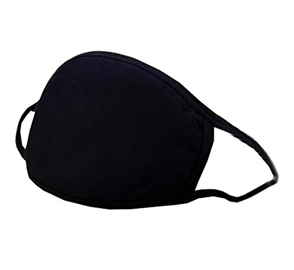 サーマル優遇ギャングスター口腔マスク、ユニセックスマスク男性用防塵コットンフェイスマスク(2個)、A1
