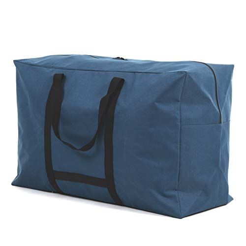 VivaSmile 大容量 バッグ 防水 大型 トートバッグ (マリンブルー, L)