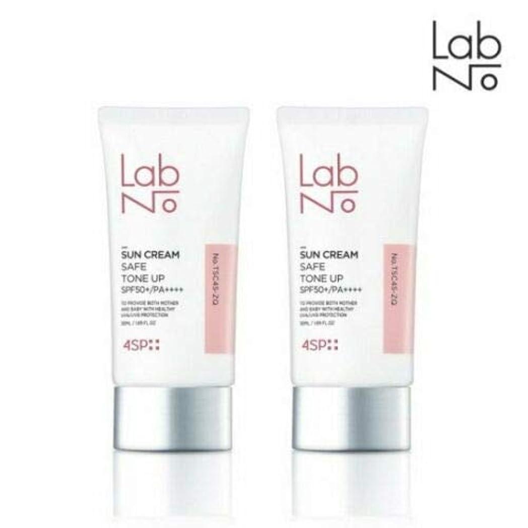 変数造船意見[1+1] LABNO セーフ トーンアップ サンクリーム 50ml SPF50+/PA++++ Safe Tone Up Sun Block Cream