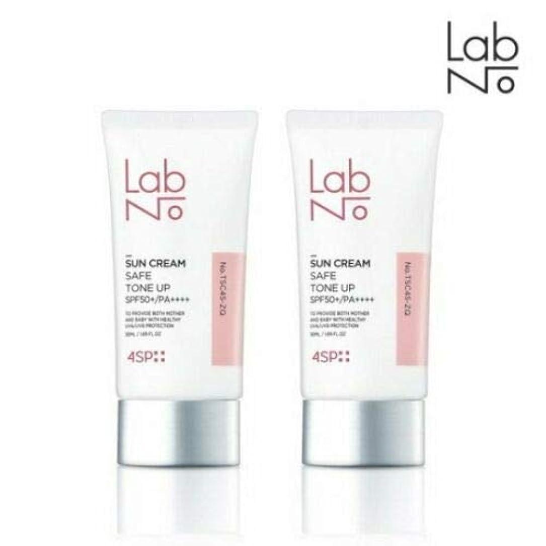 ポジティブ上院事実上[1+1] LABNO セーフ トーンアップ サンクリーム 50ml SPF50+/PA++++ Safe Tone Up Sun Block Cream