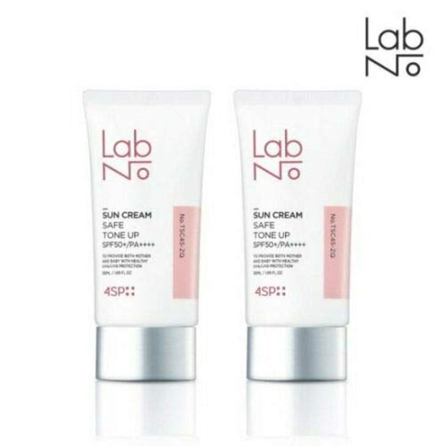 見ました移行復讐[1+1] LABNO セーフ トーンアップ サンクリーム 50ml SPF50+/PA++++ Safe Tone Up Sun Block Cream