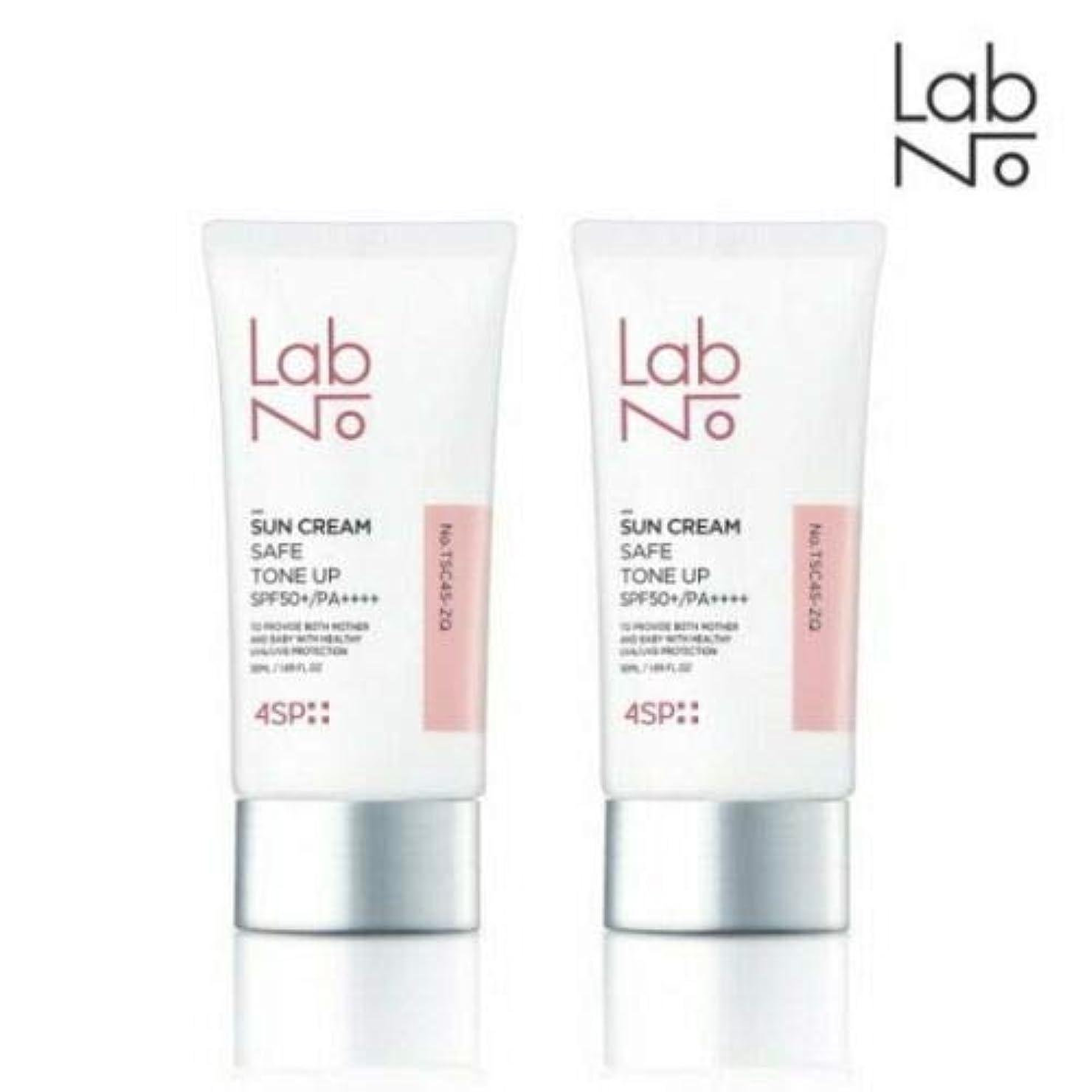 重くする静かなシーボード[1+1] LABNO セーフ トーンアップ サンクリーム 50ml SPF50+/PA++++ Safe Tone Up Sun Block Cream