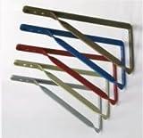 シロクマ 石膏ボード壁用 棚受け金具(2個で1セット) レッド 6590-2141