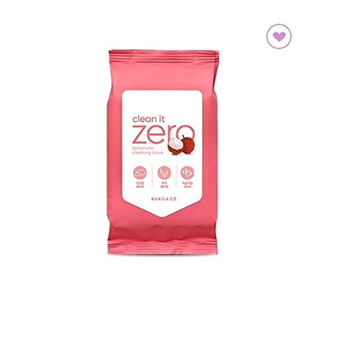 主流株式子豚banilaco バニラコクリーンイットゼロライチヴィータクレンジングティッシュ30枚 / banilaco Clean It Zero Lychee Vita Cleansing Tissue 30 sheets (150g...