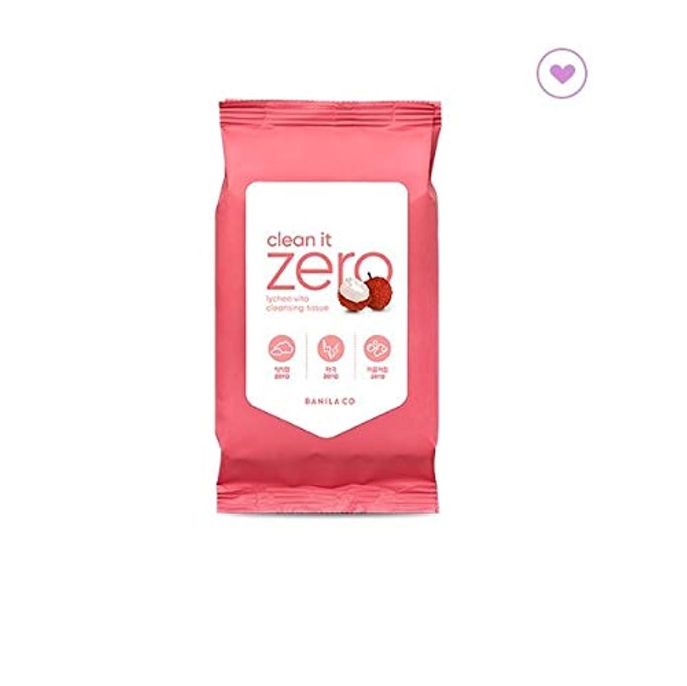 徴収臭い常にbanilaco バニラコクリーンイットゼロライチヴィータクレンジングティッシュ30枚 / banilaco Clean It Zero Lychee Vita Cleansing Tissue 30 sheets (150g...