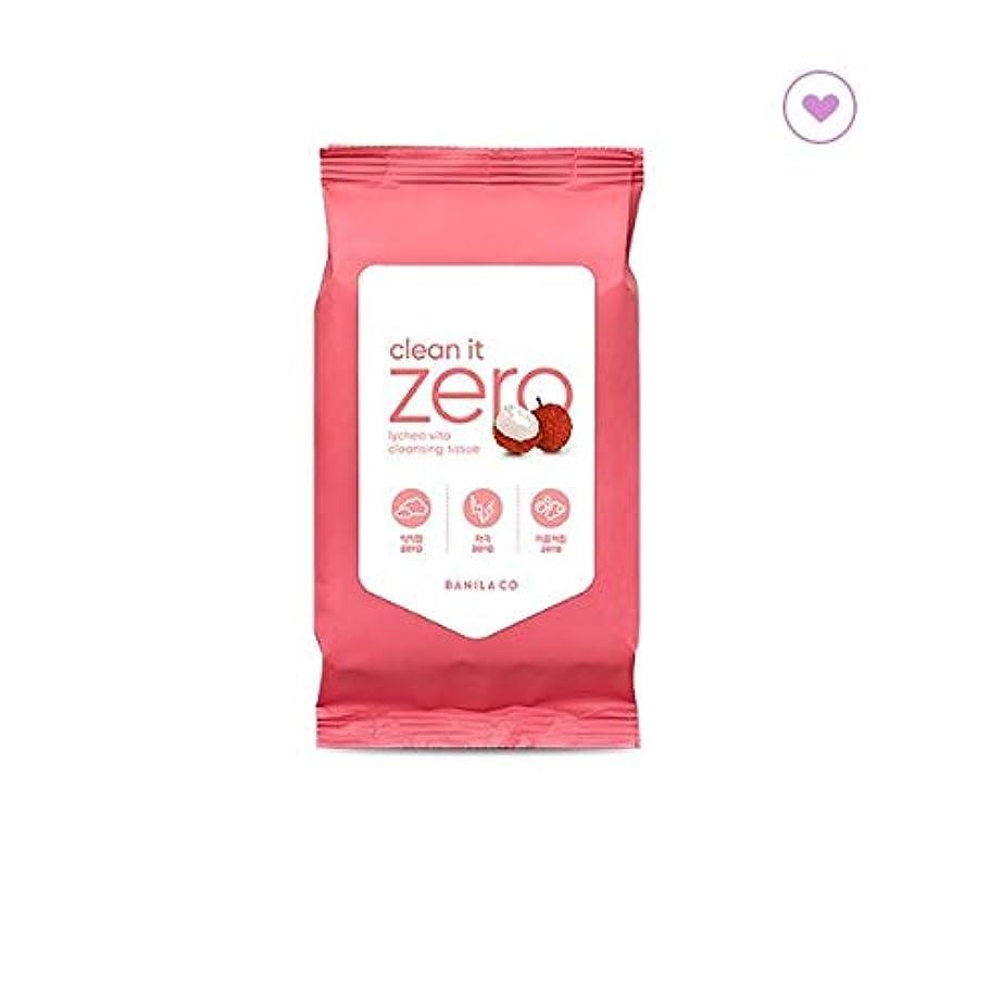 パッケージ複雑なスポットbanilaco バニラコクリーンイットゼロライチヴィータクレンジングティッシュ30枚 / banilaco Clean It Zero Lychee Vita Cleansing Tissue 30 sheets (150g...