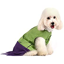 Marvel Comics Hulk Costume for Dogs, | Halloween Costume for All Small Dogs