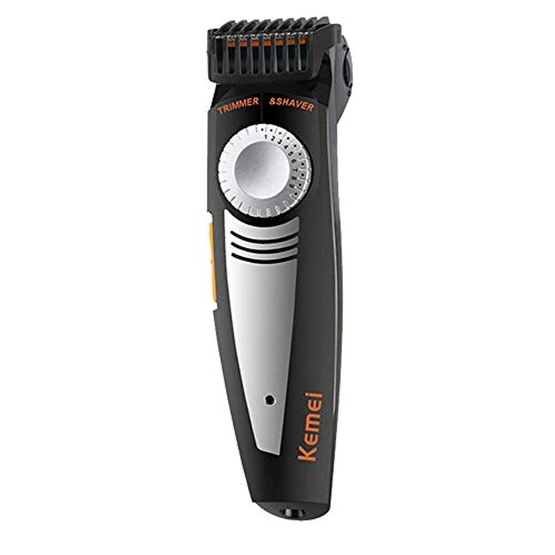 オーナメントどこでもあいまい高速男性EUプラグ髪のマシンアジャスタブルヘアーカッターのために髪トリマー専門のクリッパーを充電