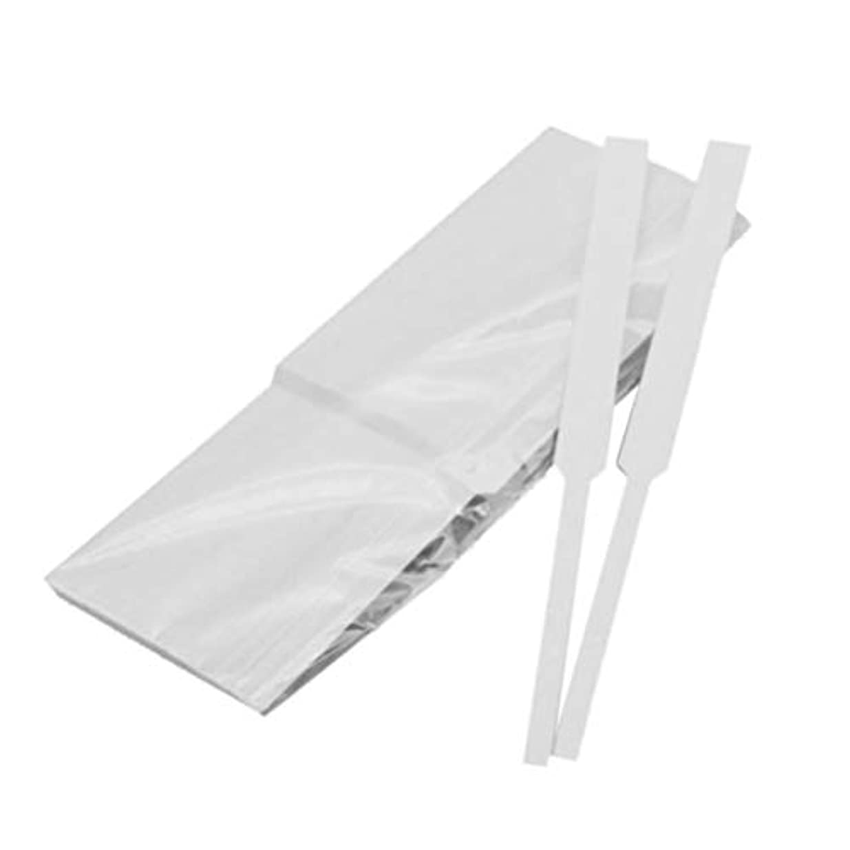 頭調和のとれた去るFrcolor 試香紙 香料試験紙 プロ用 香水 香水テストストリップ 匂い紙 アロマテラピー ペーパー 100本セット(スタイル1)