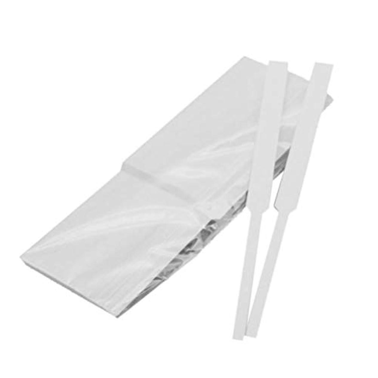 引き渡すマイコンインドFrcolor 試香紙 香料試験紙 プロ用 香水 香水テストストリップ 匂い紙 アロマテラピー ペーパー 100本セット(スタイル1)