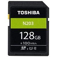 東芝 SDXCメモリーカード 128GB Class10 UHS-I SD-LU128G