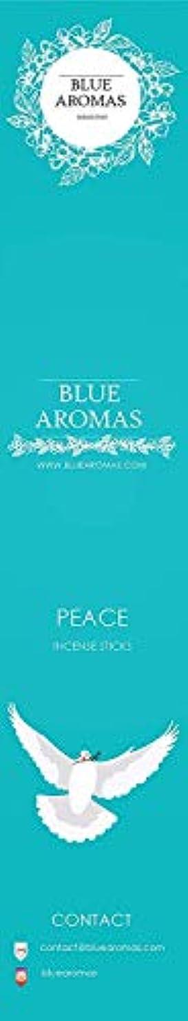 つぼみ自体事前Blue Aromas Peace Incense Sticks Agarbatti |Pack of 8, 10 Sticks in Each Pack Incense | Export Quality