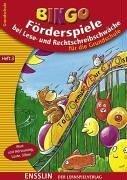 Foerderspiele bei Lese- und Rechtschreibschwaeche. Heft 3