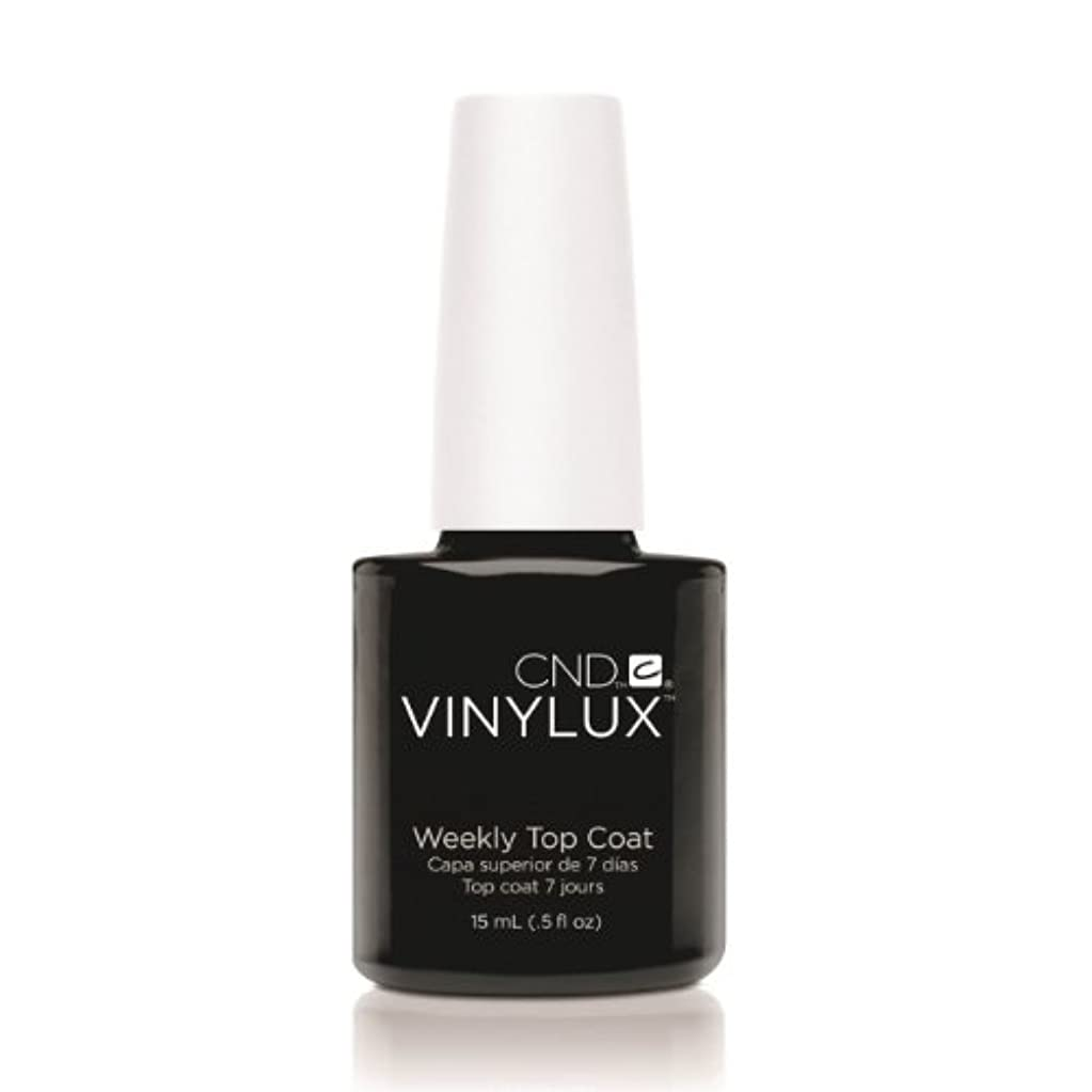 二度不要けん引(6 Pack) CND VINYLUX Weekly Top Coat - Clear (並行輸入品)