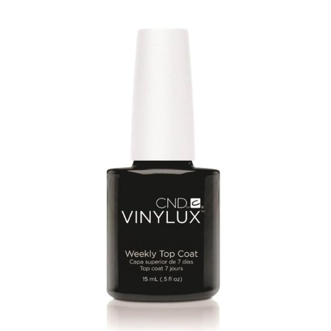 インテリア胸ホイールCND VINYLUX Weekly Top Coat - Clear (並行輸入品)