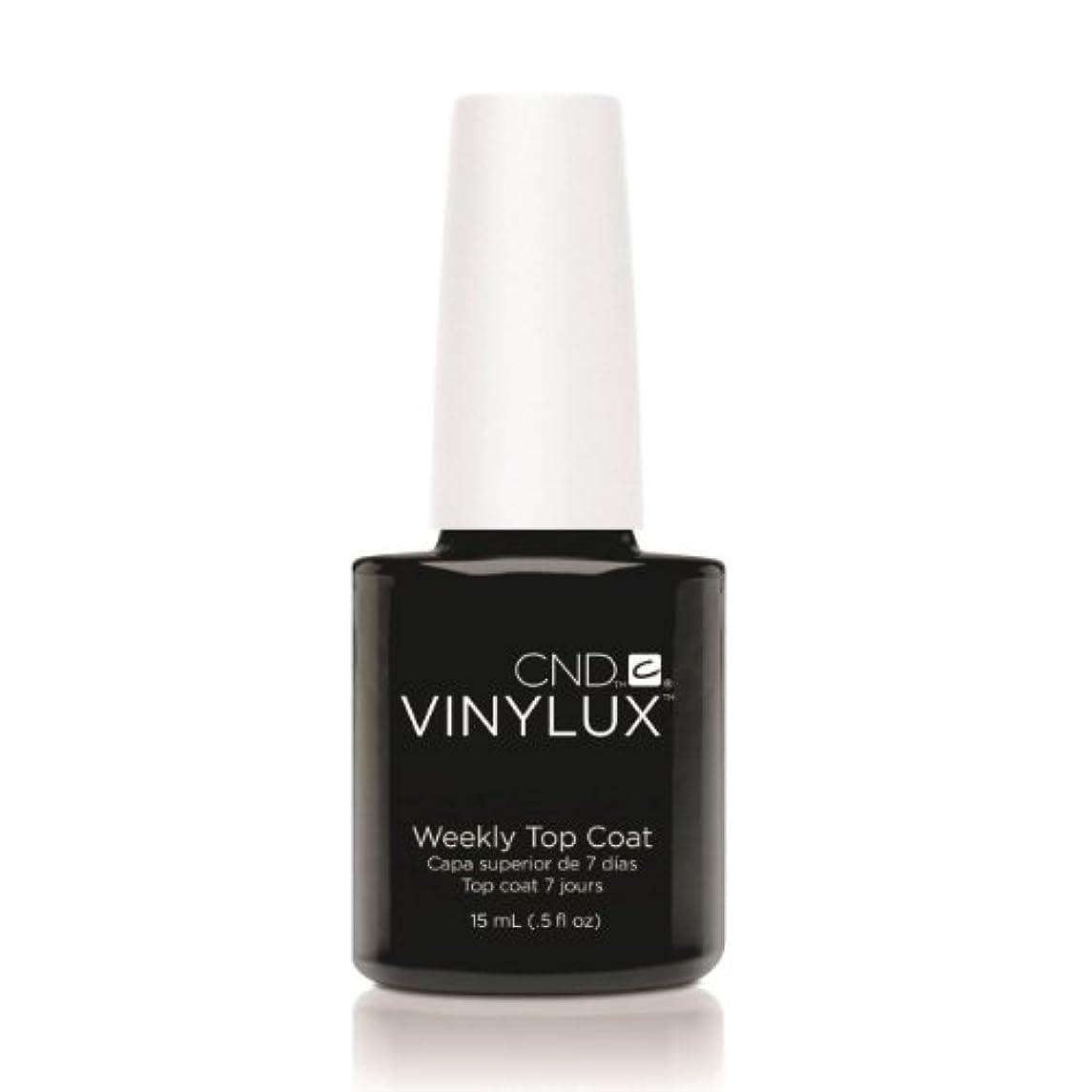 メディア節約手荷物CND VINYLUX Weekly Top Coat - Clear (並行輸入品)