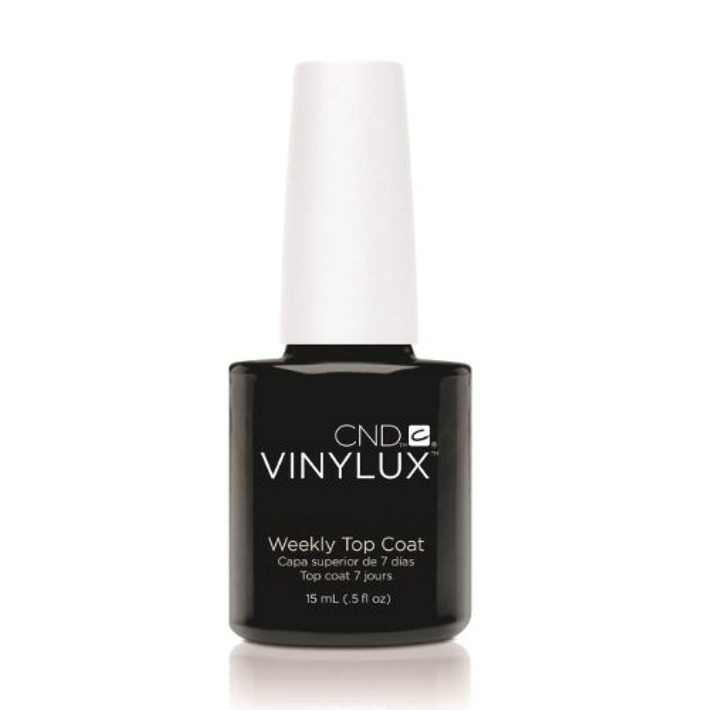 パット不良品誘発するCND VINYLUX Weekly Top Coat - Clear (並行輸入品)