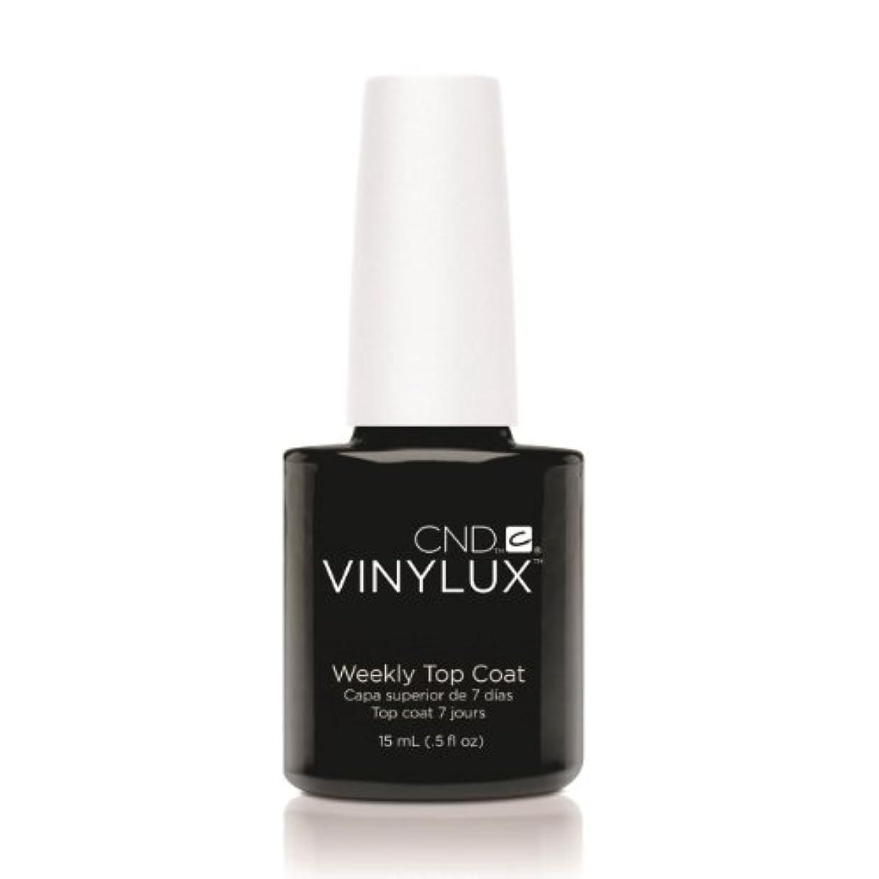 電圧空中何よりもCND VINYLUX Weekly Top Coat - Clear (並行輸入品)