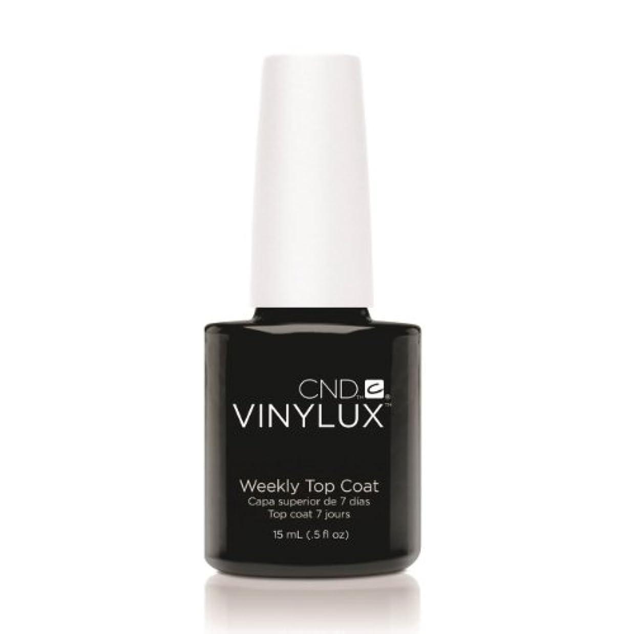 かる放つ高く(6 Pack) CND VINYLUX Weekly Top Coat - Clear (並行輸入品)