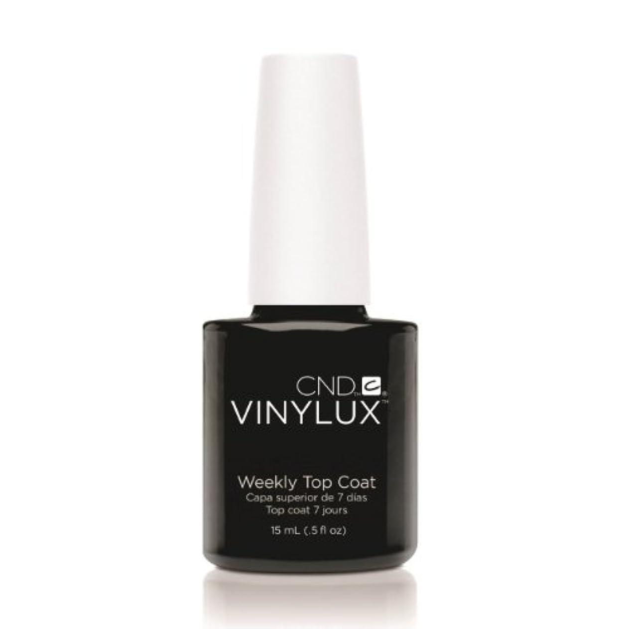 告発直感細胞CND VINYLUX Weekly Top Coat - Clear (並行輸入品)