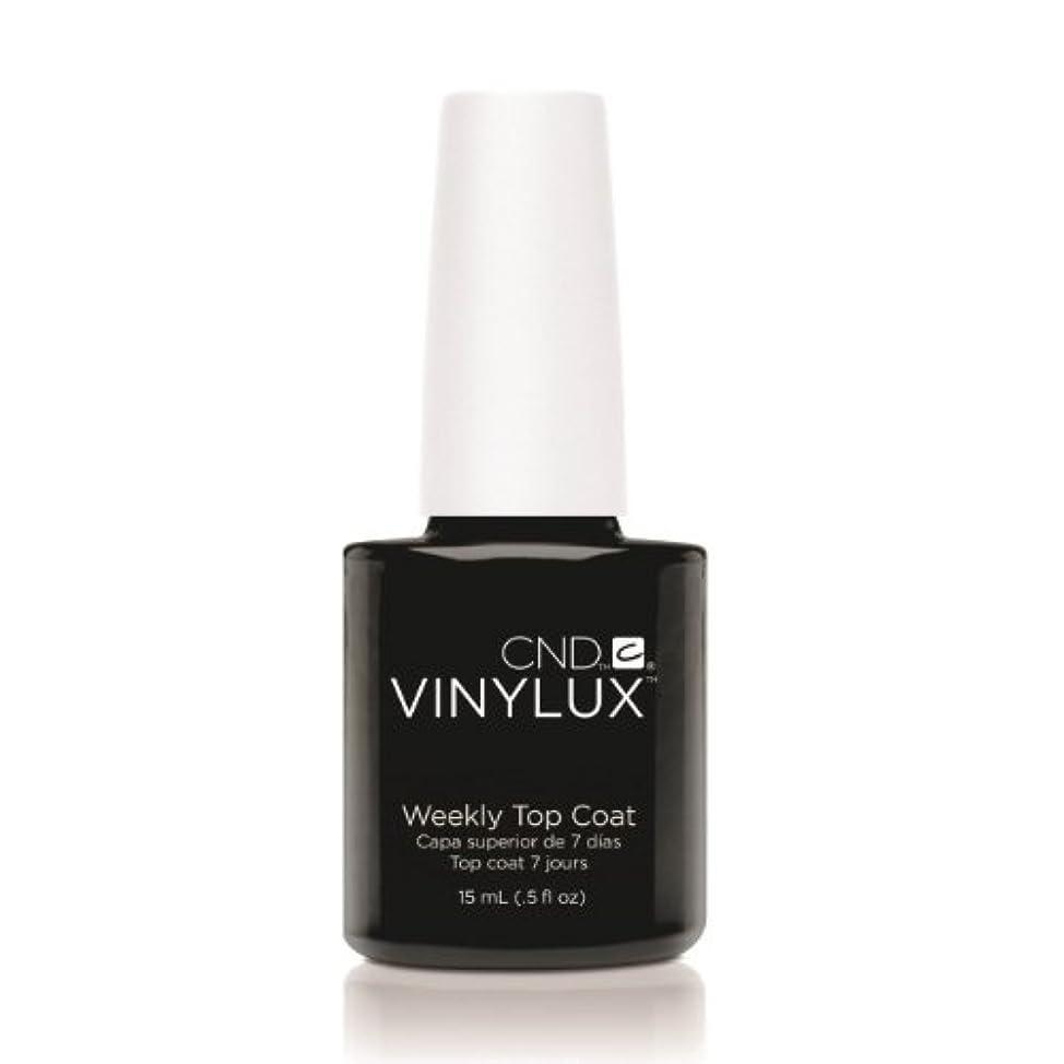キャビン富ありふれた(6 Pack) CND VINYLUX Weekly Top Coat - Clear (並行輸入品)